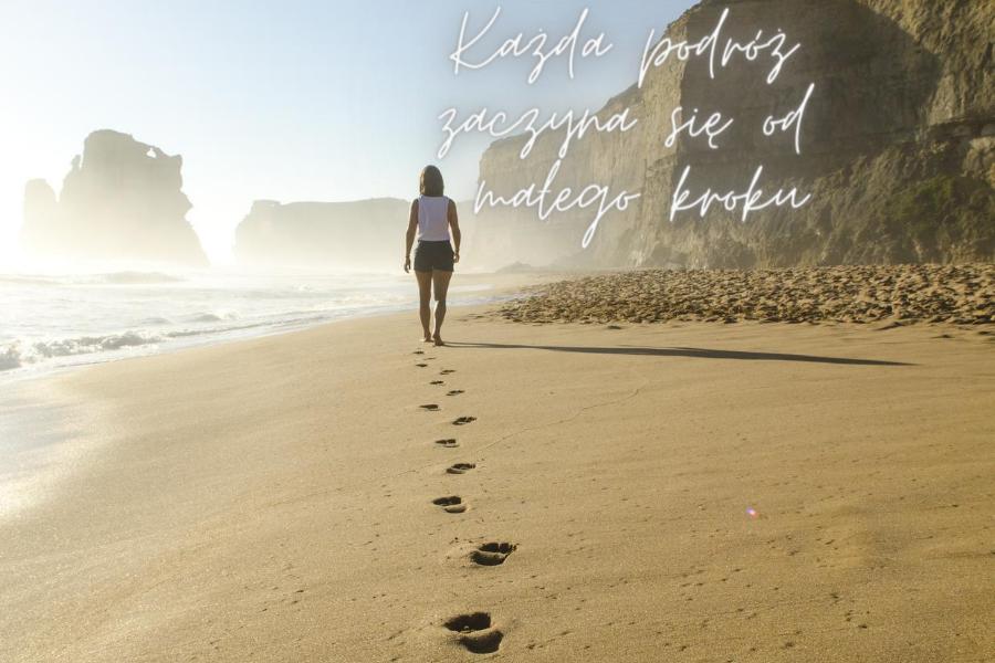 Każda podróż zaczyna się od małego kroku (4)
